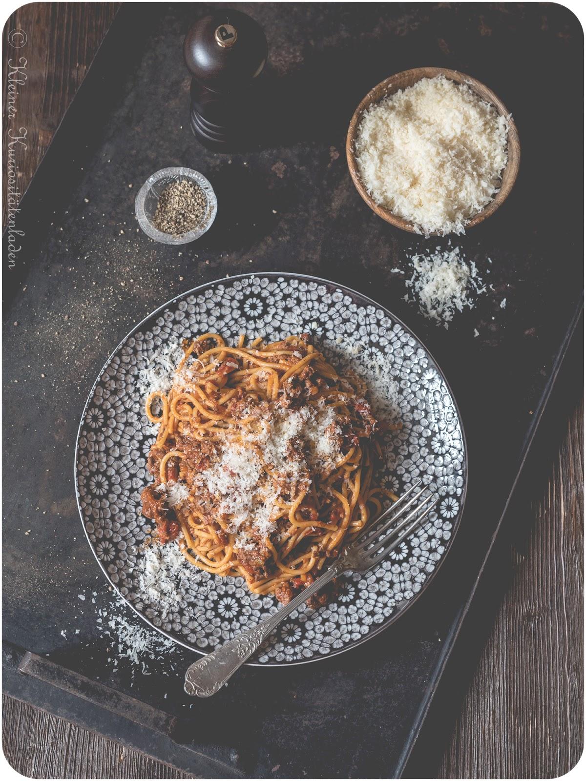 One Pot Spaghetti Bolognese aus dem Schnellkochtopf