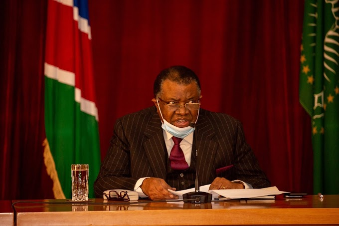 رئيس نامبيا : مبدأ تقرير المصير في الصحراء الغربية سيتسمر في تسليط الضوء على وحدة إفريقيا.