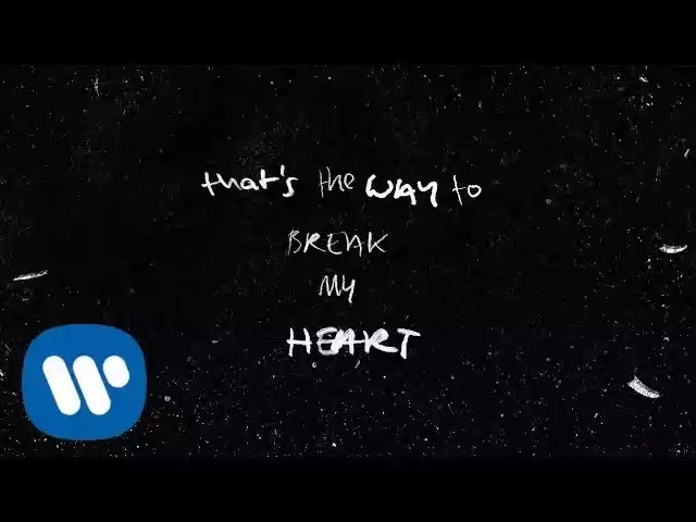 Ed Sheeran - Way To Break My Heart Lyrics
