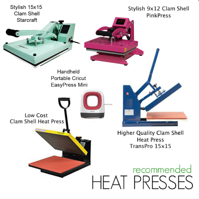 Silhouette Gifting, Silhouette for Beginners, cricut easypress, heat press , heat press machine