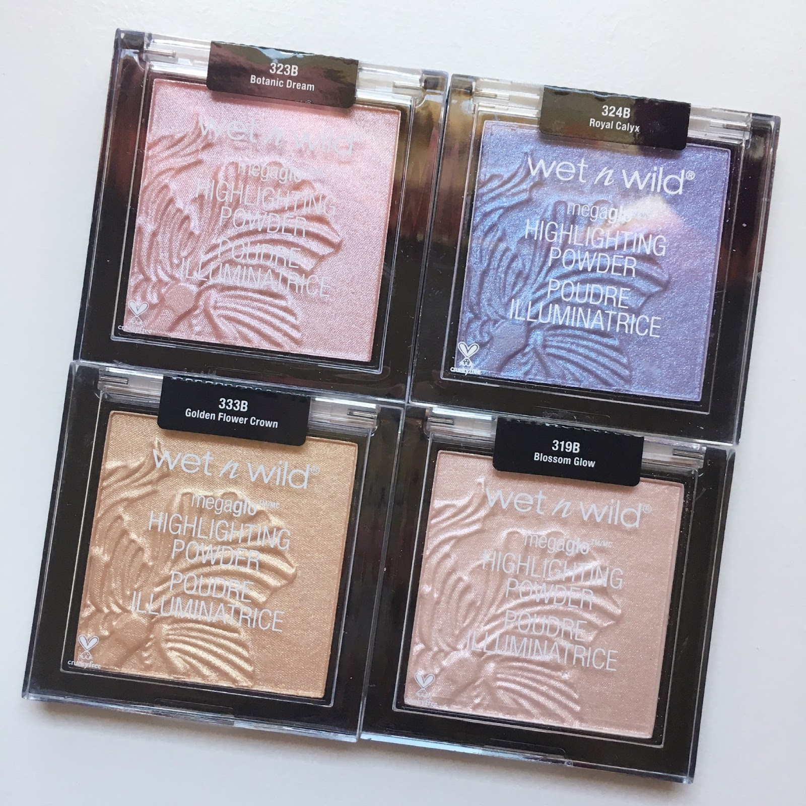 marshmallow beauty blog reviews wet n wild new megaglo hello wet n wild finally released some new shades of their popular megaglo highlighters the original i love the original megaglow highlighters in precious izmirmasajfo