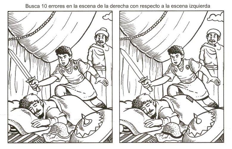 Dibujos Biblicos Para Colorear Del Rey David: Maestros De Corazón. Educación Cristiana Y Escuela