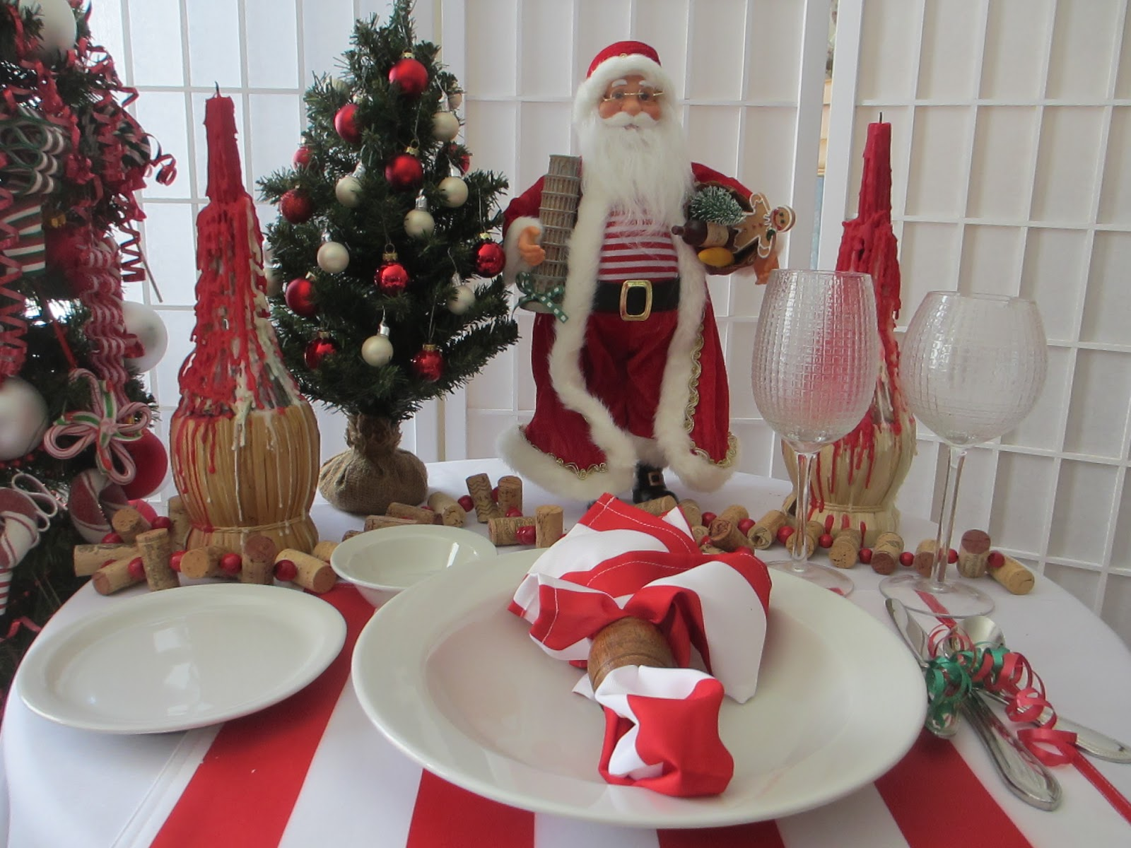 Table For One Italian Santa And Pasta