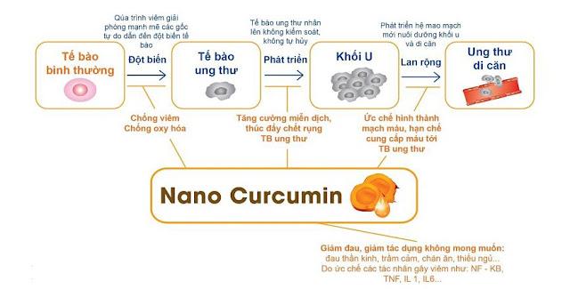 Điều trị ung thư với Nano curcumin tam thất xạ đen của Học Viện Quân Y