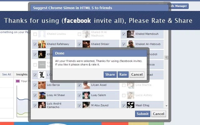 How To Invite All Friends on Facebook in Single click