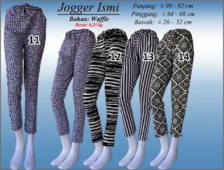 Celana jogger pants wanita model terbaru 2016