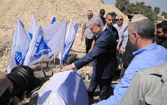 Netanyahu promete garantir a soberania israelense na Cisjordânia