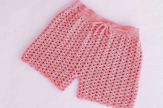 2 - Crochet Imagen Pantalón o short a crochet y ganchillo por Majovel Crochet
