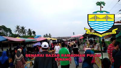 Senarai Bazar Ramadhan Pulau Pinang 2019 (Lokasi)