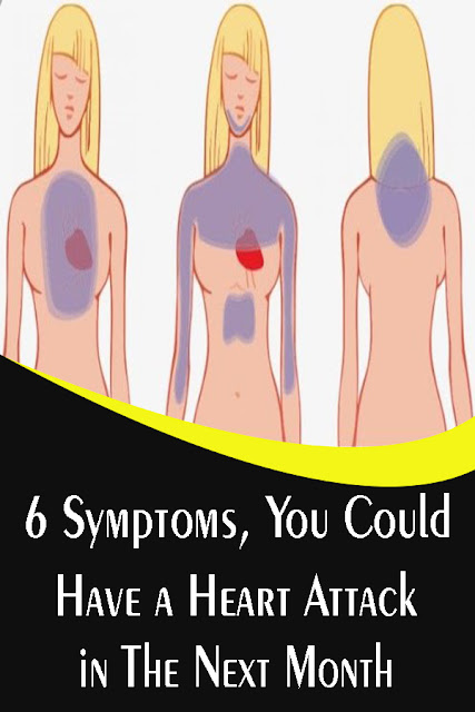 6 Symptoms, You Could Have a Heart Attack in The Next Month