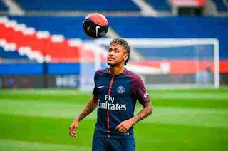 Neymar Jr congrats Bayern Munich