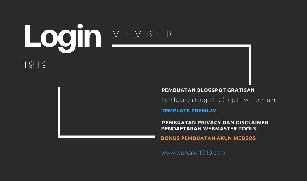 Login Member1919