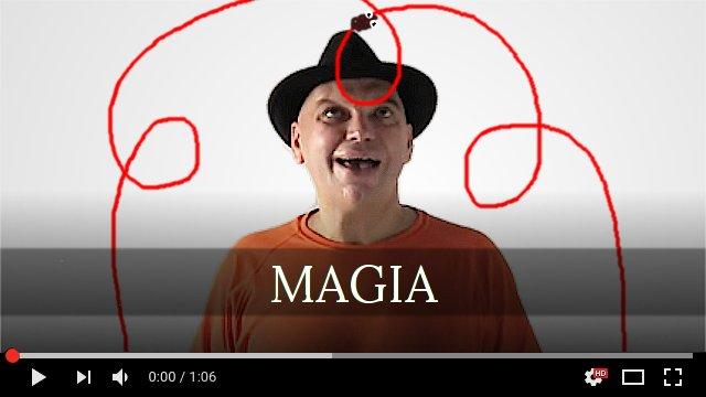 Vladimir Klimsa, Magia trucos improvisados