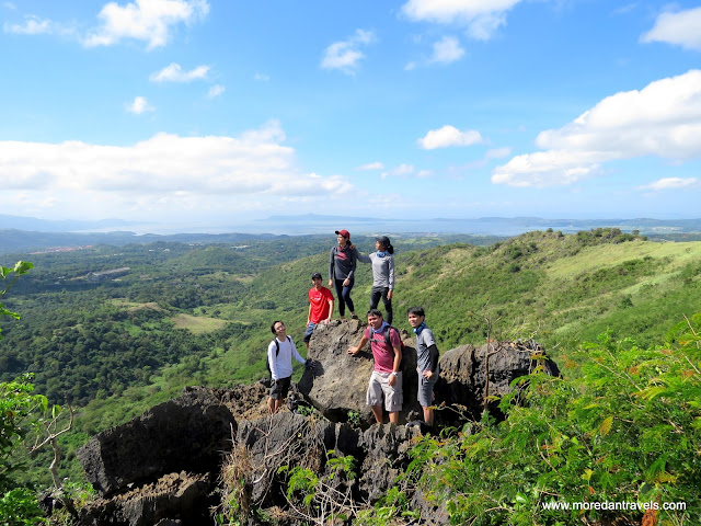 View Point Rock Formation Overlooking Laguna De bay