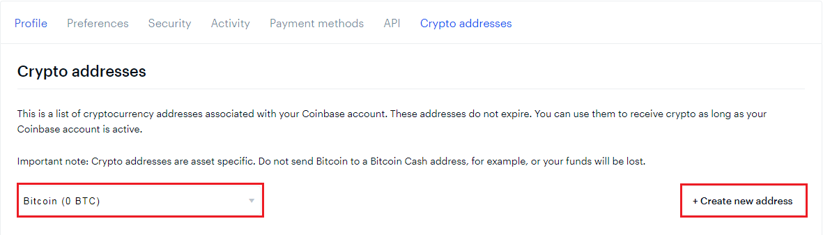 How to get Bitcoin Wallet Address on Coinbase? - Bangla Tech Solutions
