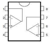 LM393 Dual Voltage Comparator Pinout and Datasheet
