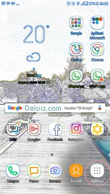 Menu aplikasi android