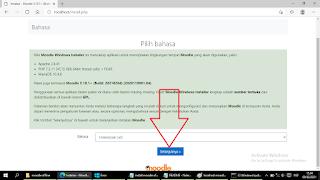 pilih moodle bahasa indonesia