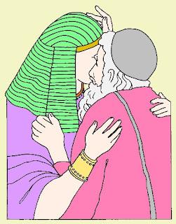 Giuseppe incontra suo padre Giacobbe