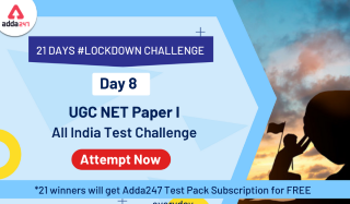 DAY 8 | Attempt UGC NET Paper I Mock