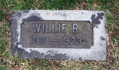 Willie Rucker's tombstone https://jollettetc.blogspot.com