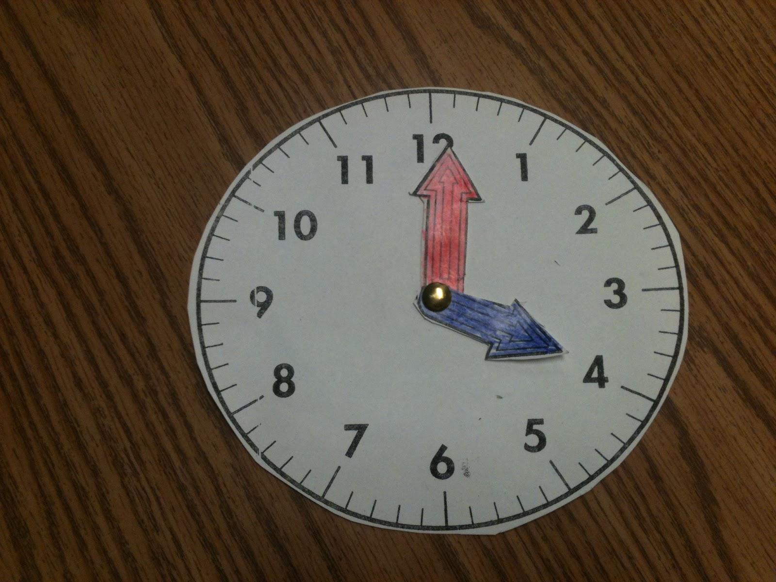 Telling Time Worksheet Kinder