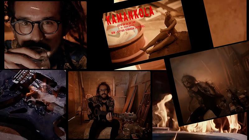 Kamankola - ¨Esto se va de lao¨ - Videoclip - Director Víctor Vinuesa (Vitiko). Portal Del Vídeo Clip Cubano. Música cubana. Rock. Cuba.