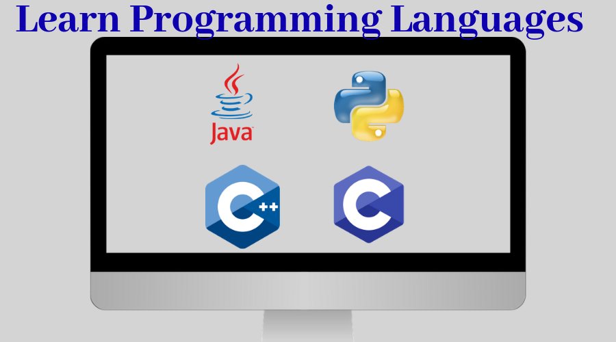 Programming Languages- C, Cpp, Java,and Python