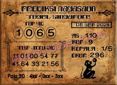 Pred Nagasaon SGP45 Senin 06 September 2021
