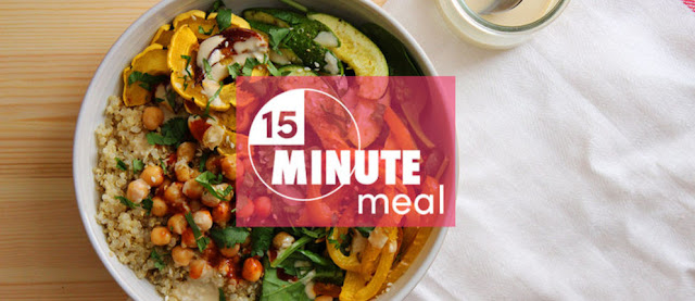 Eat Clean and Healthy All Week With These 15-Minute Meals! - healthyinfo.org
