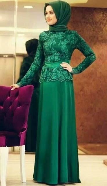 Model Kebaya Muslim Wisuda Baju Gamis Untuk Acara Wisuda