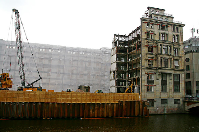 Empty building in Hamburg