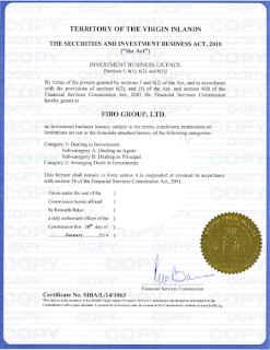 Лицензия на предоставление инвестиционных услуг FSC
