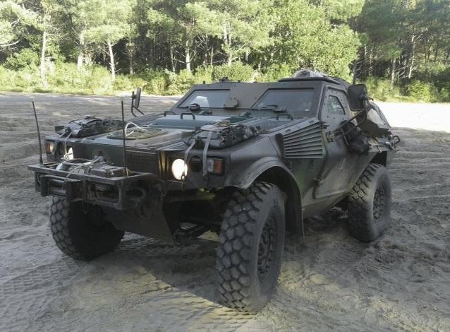 Французька армія отримає модернізовані VBL