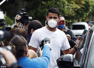 Football Star, Diego Costa Sentenced To 6-Month In Prison