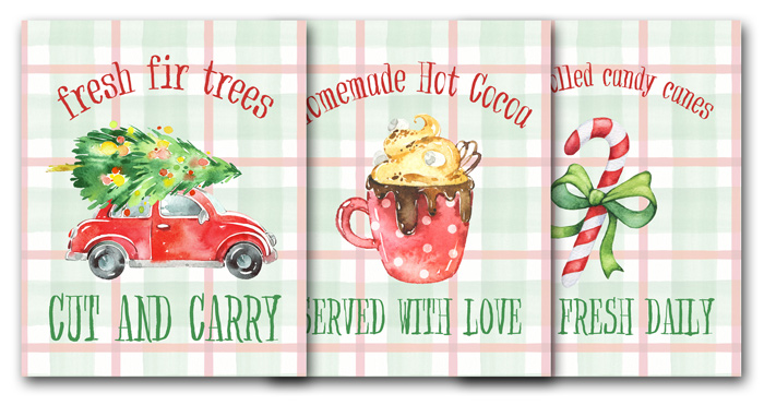 Free Printable Christmas Signs for Holiday Decor