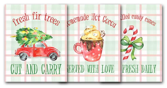 Free Printable Christmas Signs for Holiday Decor