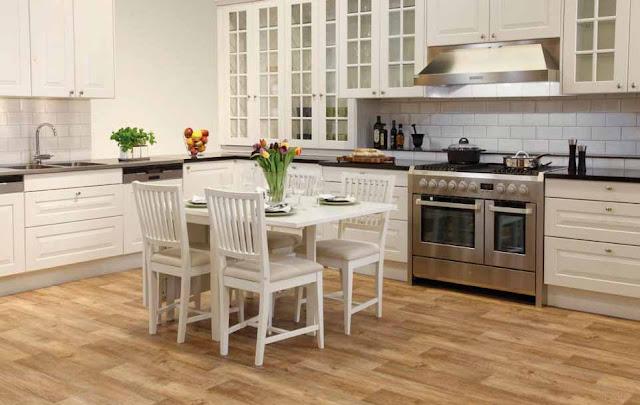 Tapi jangan salah diera modern ibarat ketika ini biasanya dapur dapat berwarna putih Dapur Yang Bernuansa Klasik