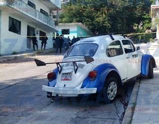 Ejecutan a taxista en colonia Morelos de Acapulco Guerrero