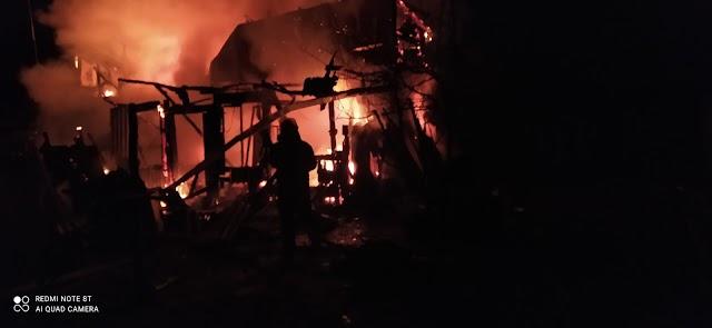 Жахлива пожежа: на Бориспільщині від будинку залишилося лише згарище