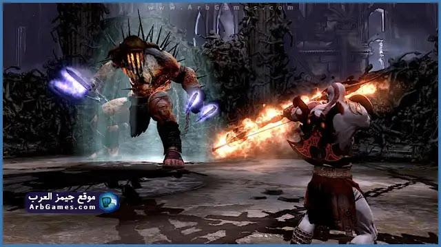 تحميل لعبة God Of War 3 للكمبيوتر من مبيديا فاير