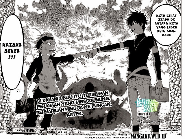 Baca Manga Black Clover Chapter 1 Bahasa Indonesia