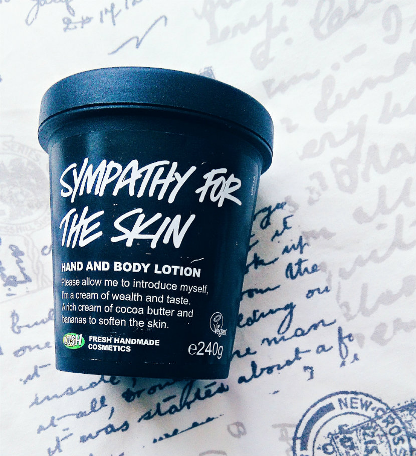 LUSH Sympathy for the Skin