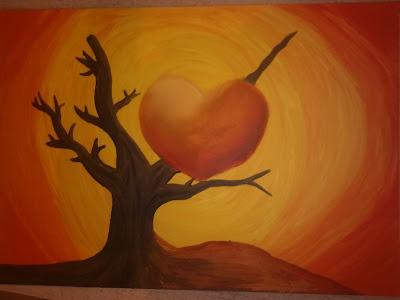 imagen corazon herido+enamorados