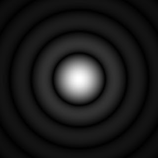 A plot of the Airy disk.