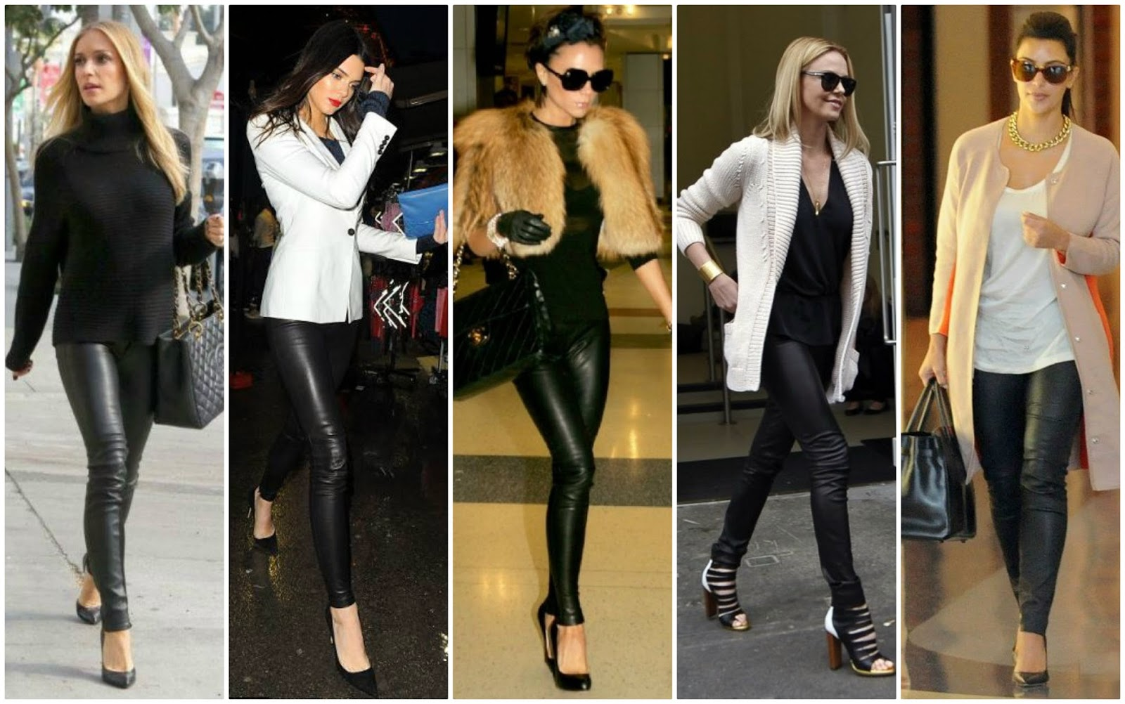 How to wear faux leather, scuba, leder leggings, outfit options, ways to style