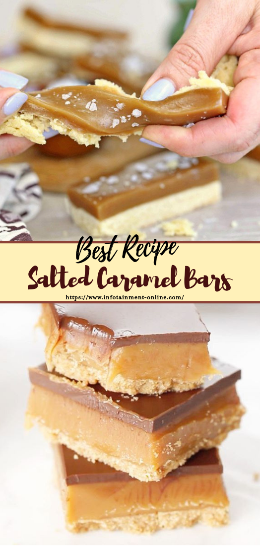 Salted Caramel Bars #desserts #cakerecipe #chocolate #fingerfood #easy