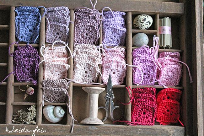 Seidenfeins Blog Vom Schönen Landleben Häkeln Im Quadrat Crochet