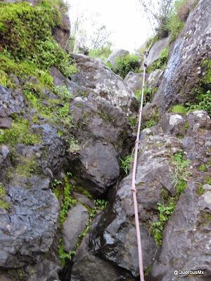 A escalar en la Tetilla - Cerro de Tequila
