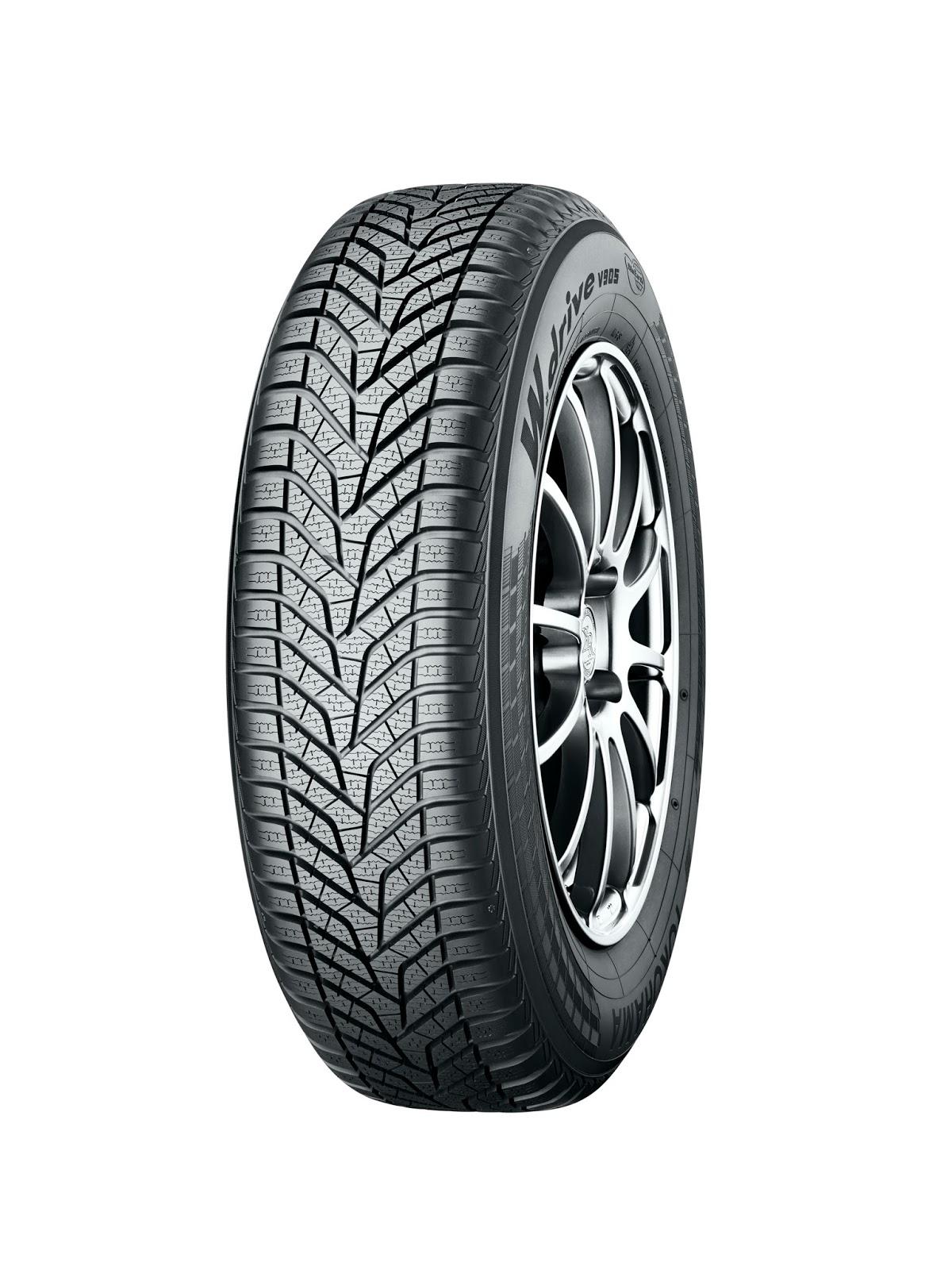 Wdrive V905 angled Σε δοκιμές του οργανισμού ADAC το χειμερινό ελαστικό W. Drive V905 της YOKOHAMA πέτυχε κορυφαίες επιδόσεις tires, YOKOHAMA, Ελαστικά
